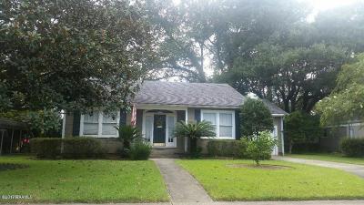 Lafayette Single Family Home For Sale: 511 W St Louis Street