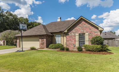 broussard Single Family Home For Sale: 208 Waterberry Drive