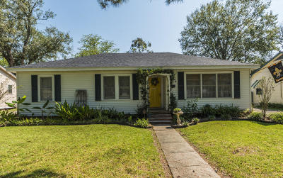 Franklin Single Family Home For Sale: 810 Guidroz Street