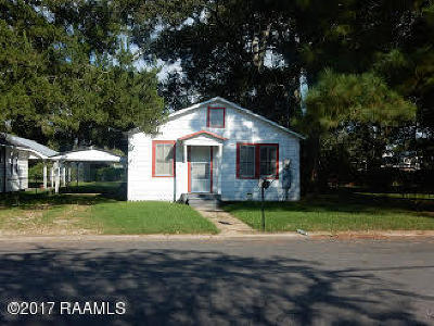 Eunice Single Family Home For Sale: 310 N 9th Street