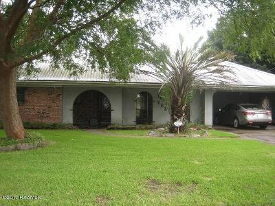 New Iberia Single Family Home For Sale: 1611 Zez