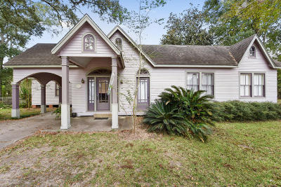 Arnaudville Single Family Home For Sale: 1579 Courtableau