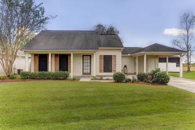 Duson Single Family Home For Sale: 211 Wheatfield Drive