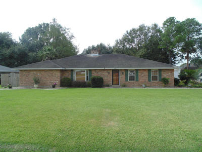New Iberia Single Family Home For Sale: 2208 Old Jeanerette Road
