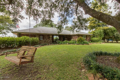Youngsville Single Family Home For Sale: 440 S Larriviere Road