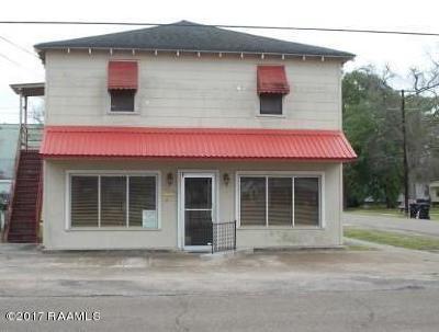 Vermilion Parish Commercial For Sale: 300 E Lafayette Street