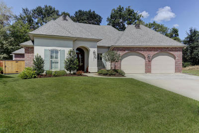 Youngsville Single Family Home For Sale: 303 Herbsaint