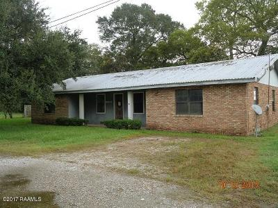 St. Martinville Single Family Home For Sale: 1027-B Coteau Holmes