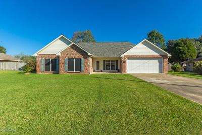 Opelousas Single Family Home For Sale: 117 Tillou Andrus Drive