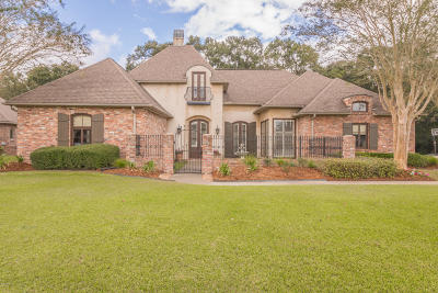 broussard Single Family Home For Sale: 212 Lantana Court
