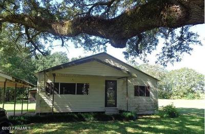 St. Martinville Single Family Home For Sale: 1059 Hugh Daspit Road
