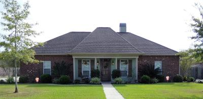 Carencro Single Family Home For Sale: 308 Deer Valley Lane