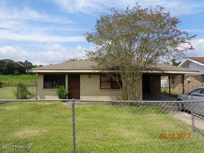 Iberia Parish Single Family Home For Sale: 826 Morris Charles