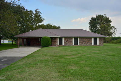 New Iberia Single Family Home For Sale: 6102 Freetown Road