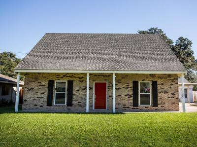 Lafayette Single Family Home For Sale: 307 Genevieve Drive