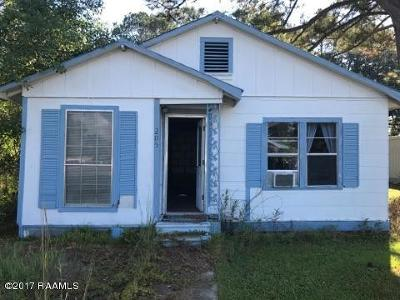Melville Single Family Home For Sale: 205 Fontenot Street