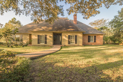 St. Martinville Single Family Home For Sale: 1028 Hugh Drive