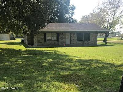 Scott Single Family Home For Sale: 811 Lebesque Road