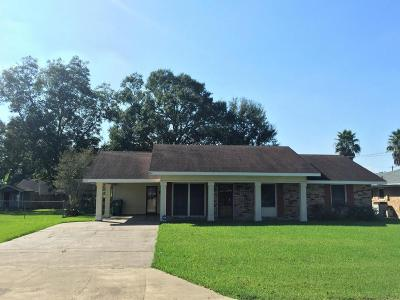 Crowley Single Family Home For Sale: 1223 Jenkins Avenue