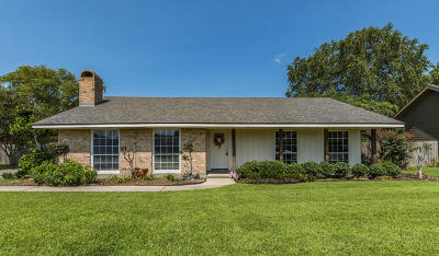 Broussard LA Single Family Home For Sale: $185,000