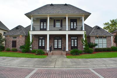 Lafayette Single Family Home For Sale: 103 Gated Trinity Court