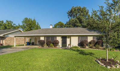 Lafayette Parish Single Family Home For Sale: 229 Vivian Drive