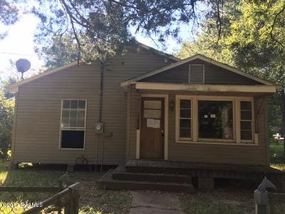 Mamou Single Family Home For Sale: 809 7th Street