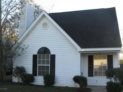 Lafayette Parish Single Family Home For Sale: 419 Harvest Drive