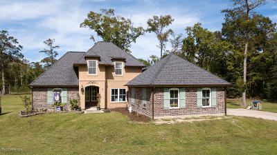 Single Family Home For Sale: 1155 Bayou Portage Road