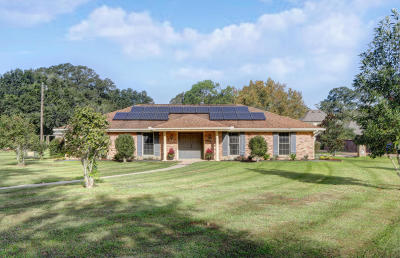 Lafayette Single Family Home For Sale: 700 E Bayou Parkway