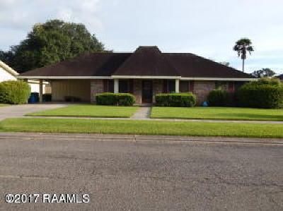 Lafayette Single Family Home For Sale: 432 Atlanta Drive