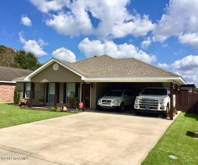 Youngsville Single Family Home For Sale: 127 Pebbel Beach Drive