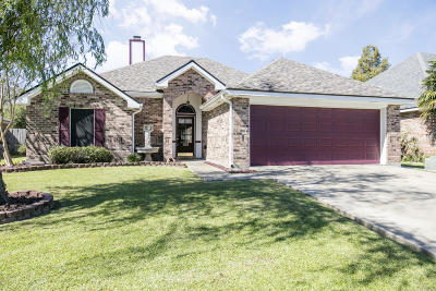 Broussard Single Family Home For Sale: 105 Tulip Tree Lane