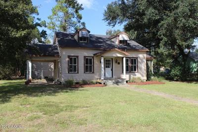 Mamou Single Family Home For Sale: 801 Main Street