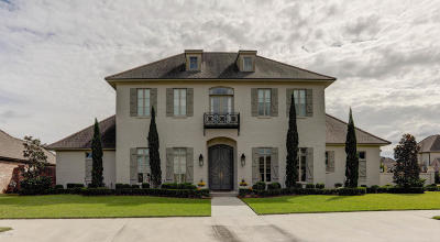 Lafayette Parish Single Family Home For Sale: 107 English Gardens Parkway