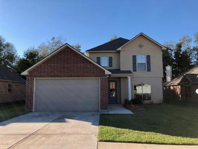 Carencro Single Family Home For Sale: 121 Endicott Drive