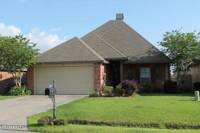Carencro Single Family Home For Sale: 102 Tara Oak Drive