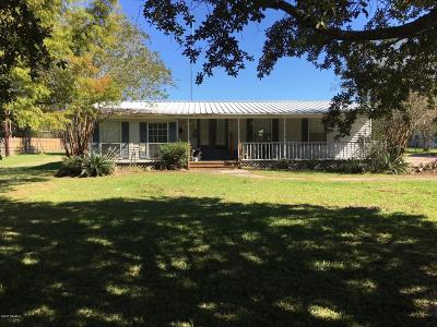 Duson Single Family Home For Sale: 504 Hollier Road