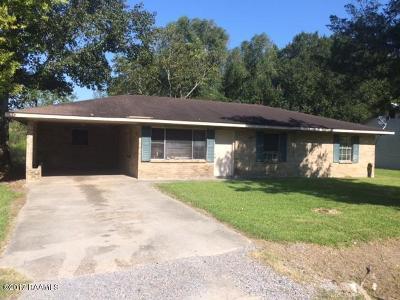 Arnaudville Single Family Home For Sale: 1028 Olanda Road