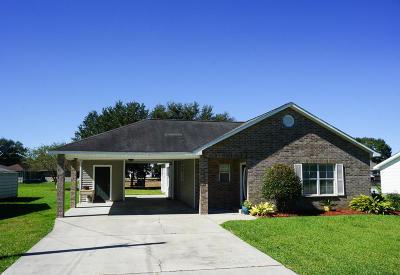 Duson Single Family Home For Sale: 209 Morningside Drive