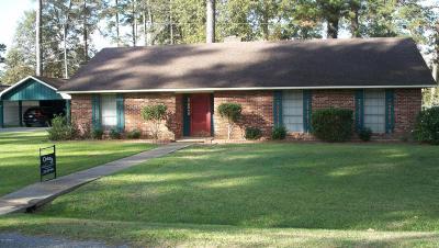 Eunice Single Family Home For Sale: 139 Whispering Pines Lane