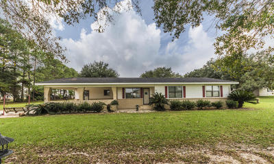 New Iberia Single Family Home Active/Contingent: 3806 Daspit Road