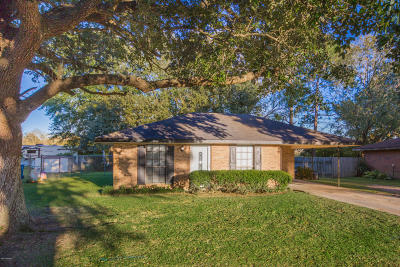 Carencro Single Family Home For Sale: 111 Rich Angel Drive
