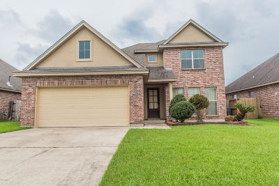 Broussard Single Family Home For Sale: 111 Cypress Sunset Drive