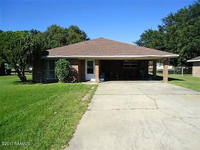 Rayne Single Family Home For Sale: 108 W Henry Street