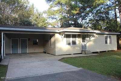Lafayette Parish Single Family Home For Sale: 215 Lana Drive