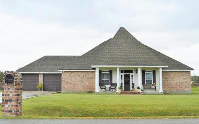 St Martinville, Breaux Bridge, Abbeville Single Family Home For Sale: 12511 Aube Drive