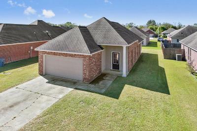 Carencro Single Family Home For Sale: 607 Magnolia Knee
