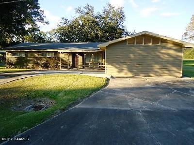 Rayne Single Family Home For Sale: 621 E G Street