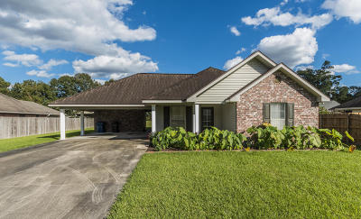 Carencro Single Family Home For Sale: 417 Estelle Drive